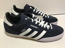 Adidas Samba SAM SUPER SUEDE 019332 - Navy/White - Men's Size 9.5