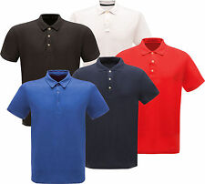 Regatta Mens Stud Pique Polo Shirt - Quick Dry - Moisture Wicking Fabric