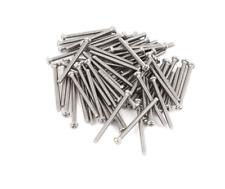 M2 0.4 x 25mm Pack of  50 Philips Round Pan Head Screws Stainless Steel - FSEN ■