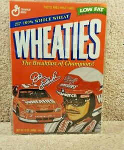 1997 Sealed Wheaties General Mills Cereal NASCAR Dale Earnhardt Sr Monte Carlo