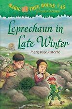 LEPRECHAUN IN LATE WINTER   MAGIC TREE HOUSE BOOK #43 HARDCOVER   NEW