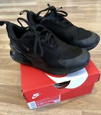 Childrens Black Nike Air Max 270 Size 13