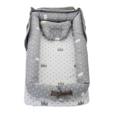 Portable Baby Nest Lounger Bed Crib Newborn Sleep Foldable Bassinet Pillow Decor