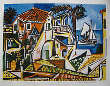 Pablo Picasso MEDITERRANEAN LANDSCAPE Estate Signed Ltd Edition Art LARGE Giclee