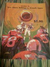 1987 New Albany Mississippi High School Football Program, Bulldogs vs Kossuth