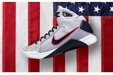 Nike Hyperdunk OG Team USA Olympic Basketball UWR Kobe White Red Blue Gold Sz 13