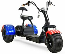 New 2000W 60V 20Ah Golf Electric Mobility Scooter 3 Wheel Trike Off Road Tires