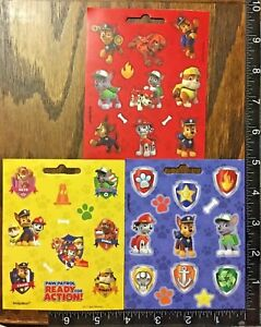 PAW PATROL BY NICKELODEON, 3 LITTLE SHEETS BEAUTIFUL STICKERS #CHASE