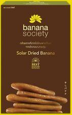 Solar Dried Banana Original test Snack Dried Thai Fruit OTOP Thai Product