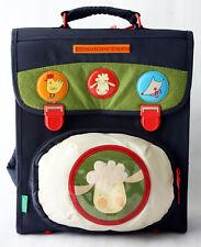 Very Rare Vintage 90'S Benetton Kids School Bag Backpack Plush Sheep New Nos!
