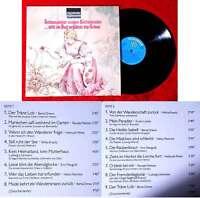 LP Still im Aug´ erglänzt die Träne - Schauspieler singen Küchenlieder (1965)