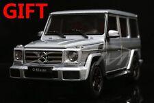 Car Model Mercedes-Benz G-Class G-Klasse G Class 1:18 (Silver) + SMALL GIFT!!!