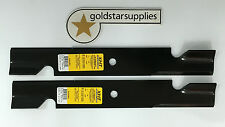 """2 x ride-on mower blades for FERRIS 36"""" Cut Ride ons - xht, very very hard blade"""
