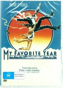 My Favorite Year DVD Peter O'Toole New and Sealed Australia