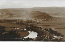 Stirling from Abbey Crag - Orig.Old Sepia RPPC - (Pub.Judges') - Mint !