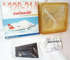 Airbus A320-214 Swissair  aircraft Dragon wings New in Box 55329