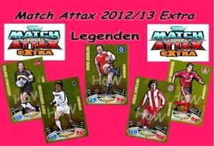 Topps Match Attax  EXTRA 2012/13 - Legenden - Teil 2