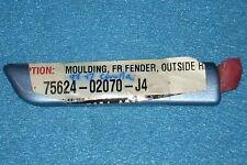 1993-1997 Toyota Corolla Left Front Fender Molding/Trim, O.E.M.-NEW-N.O.S. J4