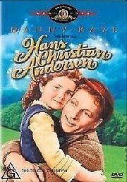 Hans Christian Andersen DVD - Danny Kaye (Pal, 2005) Free Post
