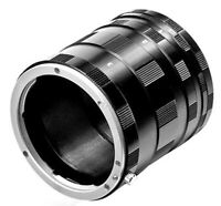 KIT TUBI MACRO TUBO EXTENSION PER FOTOCAMERA CANON EOS 90D 850D 250D 2000D 4000D