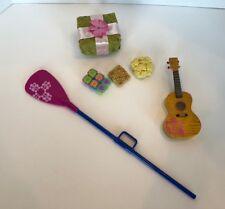 Kanani Ukelele, Gift Box, And Paddle Hawaii Hawaiian kanani American Girl
