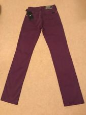 NEW Womens 7 For All Mankind Classic Straight Leg Stretch Jeans W25 L32 (1303)