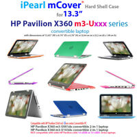 "NEW mCover® Hard Shell Case for 13.3"" HP Pavilion X360 m3-Uxxx 2-in-1 laptop"