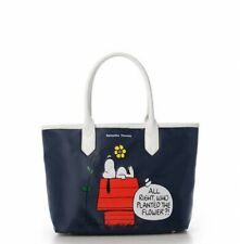 PEANUTS SNOOPY Samantha Thavasa Nylon Tote Bag NV W30xH25xD13.5cm From Japan EMS
