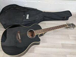 Yamaha APX700 BL Electric Acoustic Guitar With Soft Carry Case