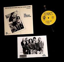 1982 FLO & EDDIE TURTLES FRANK ZAPPA BAND 9 SONG EP W/ TALENT AGENCY PROMO PHOTO