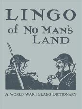 The Lingo of No Man's Land by Smith, Lorenzo