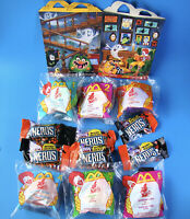 McDonald's Haunted Halloween All 6 MIP Happy Meal Toys & Candy Nerds 1998 - D