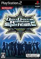 PS2 Dance Dance Revolution SuperNOVA 2 PlayStation 2 Japan F/S