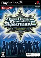 PS2 Dance Dance Revolution SuperNOVA 2 PlayStation 2 Japan F/S