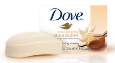 24 x DOVE SHEA BUTTER WITH VANILLA SCENT BEAUTY BARS SOAPS BATH SHOWER
