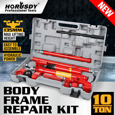 New 10T Porta Power Kit Hydraulic Panel Beating Car Body Dent Frame Repair Tool