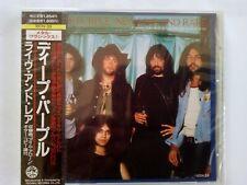 Deep Purple New, Live and Rare, Japan CD, 18DN-33 OBI, NEU, OVP, VERSCHWEISST !