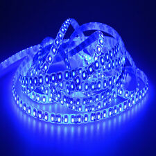 Super Blue 5M 48W 3528 SMD 600 LED Waterproof Bright Flexible Strip light 12V