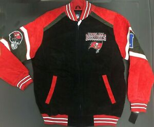 Tampa bay buccaneers  leather jacket NWT