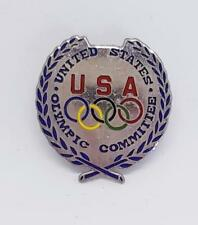 SCARCE GENUINE USOC USC UNITED STATES OLYMPIC COMMITTEE PIN