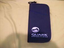 Quark Travel Wallet Organizer Large Passport Holder Zip Around - Excellent