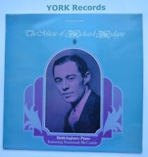 MUSIC OF RICHARD RODGERS - Keith Ingham - Excellent Con LP Record World SH 236