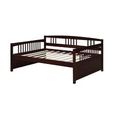 "Dorel Asia Full Size Daybed Espresso DA6312E bed 56.87"" x 77.25"" x 34"" NEW"