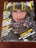 Rivista Magazine Elle France 3 Janvier 1983 N.1930 Aznavour Carole Laure