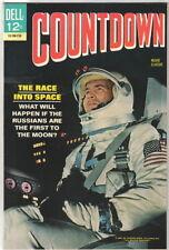 Countdown Movie Classic Comic Book Dell 1967 VERY FINE/ VERY FINE+