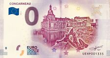 BILLET 0 ZERO EURO SOUVENIR TOURISTIQUE CONCARNEAU  2018