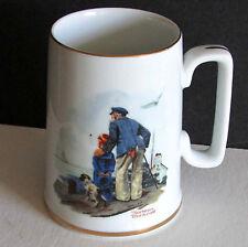 Norman Rockwell Museum 1985 Seafarers Tankard Mug Looking Out To Sea 4.5 Free Sh