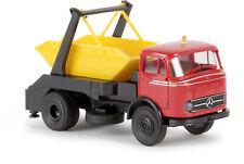 Brekina 48029 MB LP 328 Absetzkipper - rotes Fahrerhaus, H0