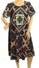 Nwt LuLaRoe Carly Donna Azteco Multicolore Vestito Taglia S -L328