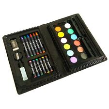 Childrens Art Set including Water Colours, Oil Pastels, Crayons, Pencil & More